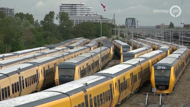 Wegroestende Treinen In Nijmegen Zijn Weer Van Ns Omroep Gelderland